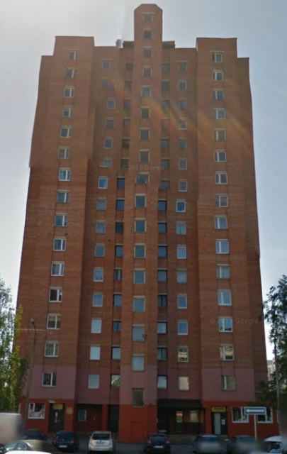 16-этажка №2 сзади
