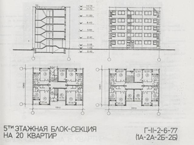 Г-II-2-6-77 (1А-2А-2Б-2Б)