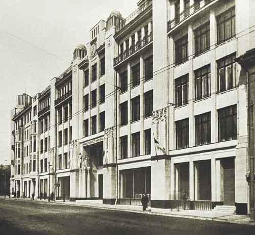 Здание Военторга в Москве, Москва, Улица Воздвиженка, дом 10