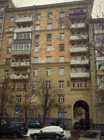 Москва, улица Острякова, дом 6 (САО, район Хорошевский)