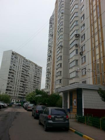 Москва, улица Барышиха, дом 27, Серия П-44 (СЗАО, район Митино)