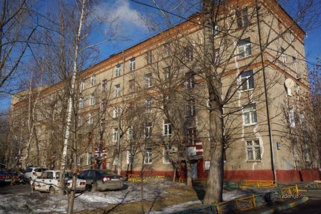 Москва, Волжский бульвар, дом 46, корпус 2 (ЮВАО, район Текстильщики)