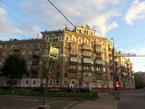 Москва, Новопесчаная улица, дом 13, корпус 3 (САО, район Сокол)