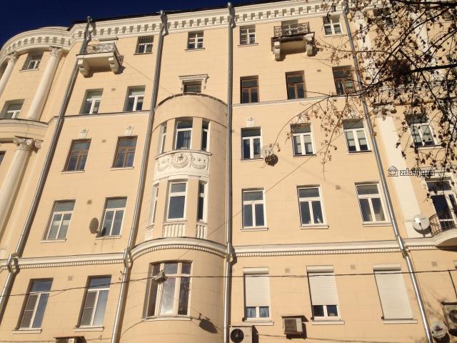Москва, переулок Сивцев Вражек, дом 44/28 (ЦАО, район Арбат)