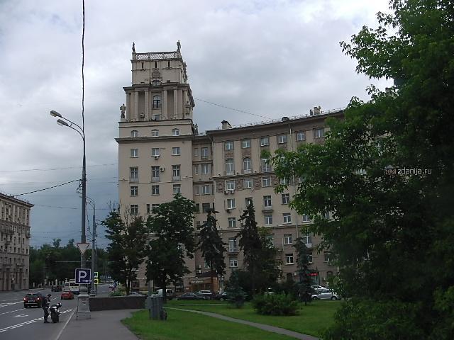 Москва, Ленинский проспект, дом 37 (ЮАО, район Донской)
