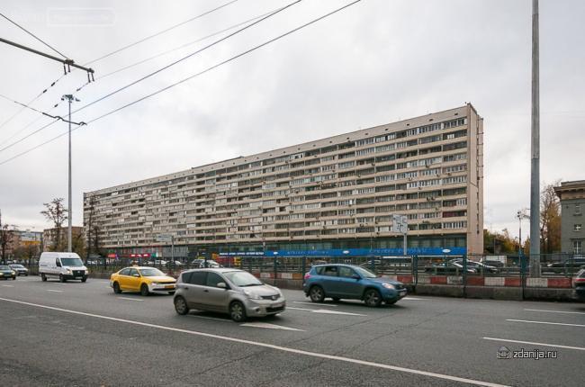 Москва, Ленинградский проспект, дом 33, корпус 1 (САО, район Беговой)
