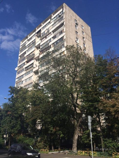 Москва, Октябрьская улица, дом 42, Серия И209а (СВАО, район Марьина Роща)