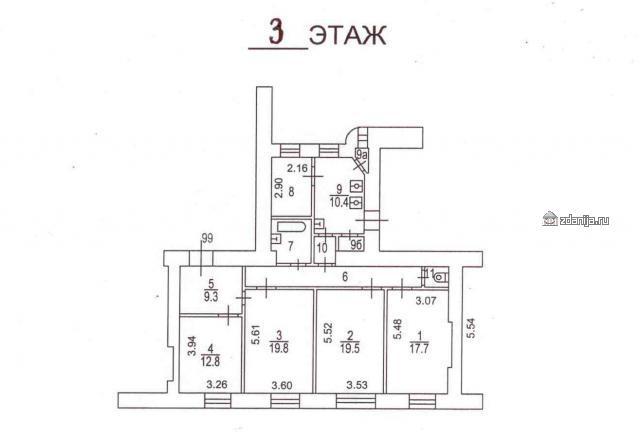 Москва, 1-й Смоленский переулок, дом 15 (ЦАО, район Арбат)