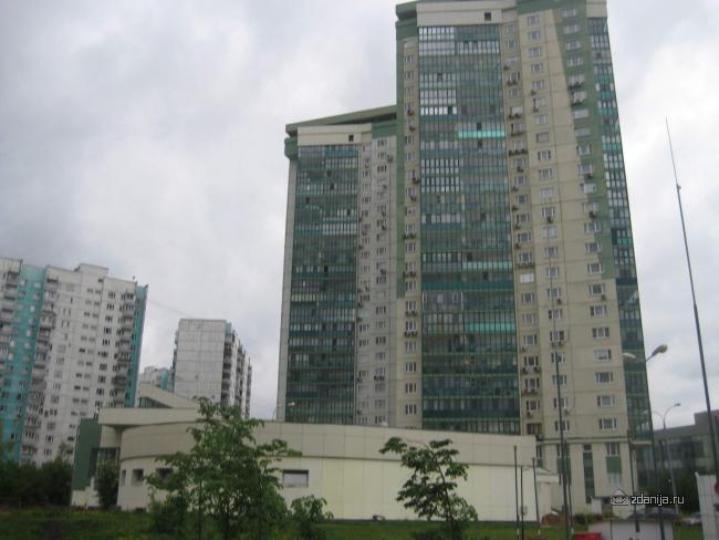 Москва, улица Покрышкина, дом 3 (ЗАО, район Тропарево-Никулино)