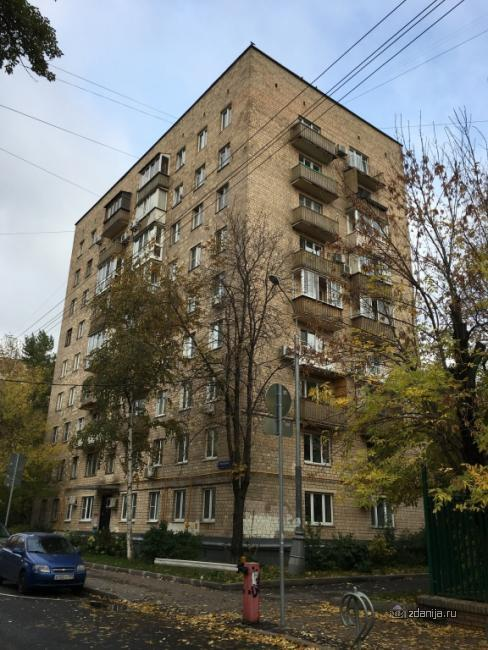 Москва, Вспольный переулок, дом 10 (ЦАО, район Пресненский)
