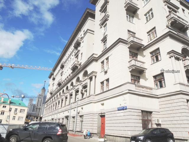Москва, Котельническая набережная, дом 25, корпус 2 (ЦАО, район Таганский)