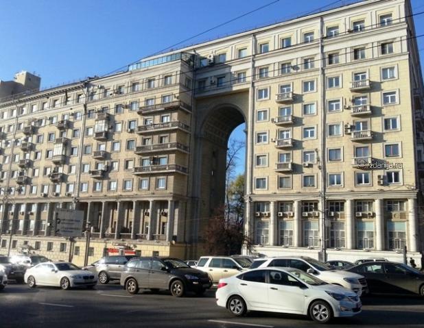 Москва, улица Земляной Вал, дом 48А (ЦАО, район Таганский)
