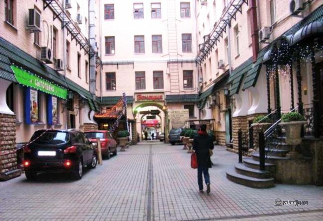 Москва, Страстной бульвар, дом 4, строение 3 (ЦАО, район Тверской)