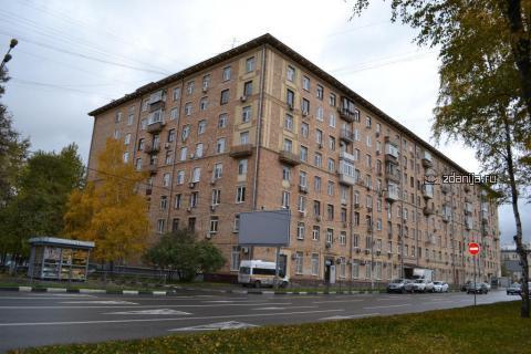 Москва, Ленинский проспект, дом 60/2 (ЮЗАО, район Гагаринский)