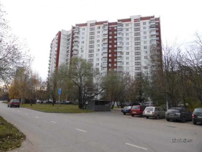 Москва, проспект Вернадского, дом 89 (ЗАО, район Тропарево-Никулино)