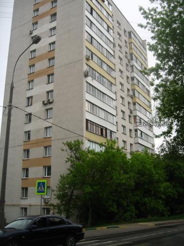 Москва, 1-й Сетуньский проезд, дом 10, Серия И209а (ЗАО, район Раменки)