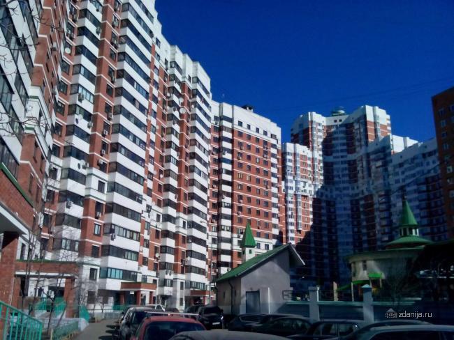 Москва, улица Маршала Тухачевского, дом 51 (СЗАО, район Хорошево-Мневники)