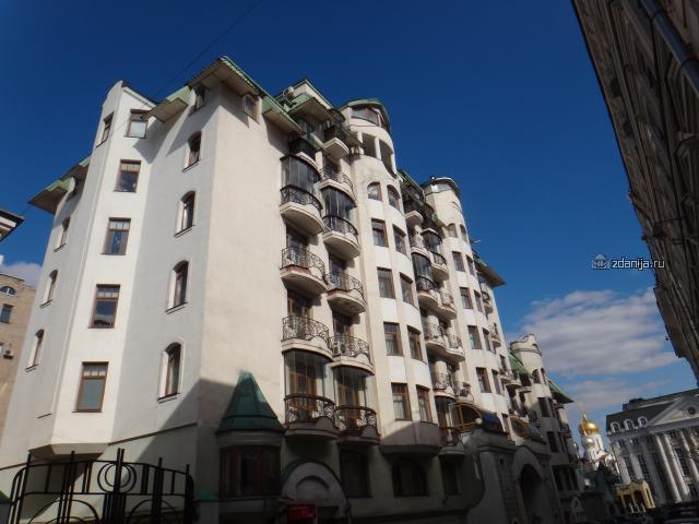 Москва, Сеченовский переулок, дом 2 (ЦАО, район Хамовники)
