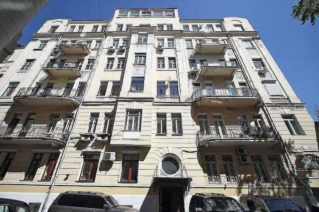 Москва, Чистый переулок, дом 6, строение 2 (ЦАО, район Хамовники)