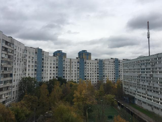 Москва, улица Маршала Катукова, дом 20, корпус 1, Серия П-44 (СЗАО, район Строгино)