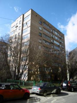Москва, 1-й Смоленский переулок, дом 13 (ЦАО, район Арбат)