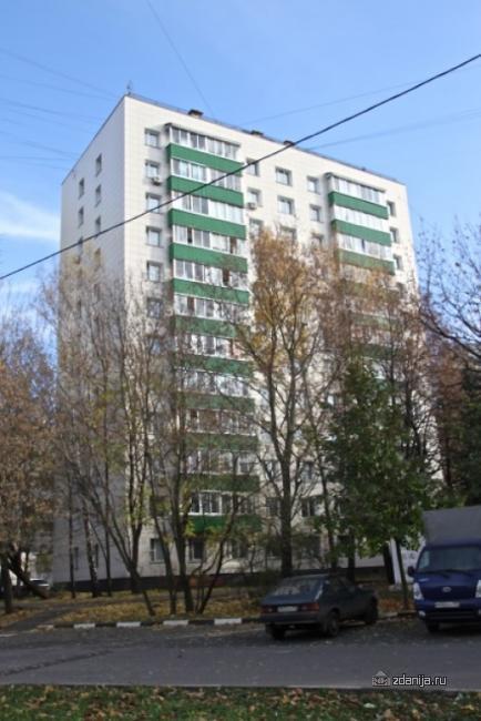 Москва, Нагорная улица, дом 20, корпус 8, Серия II-68 (ЮЗАО, район Котловка)