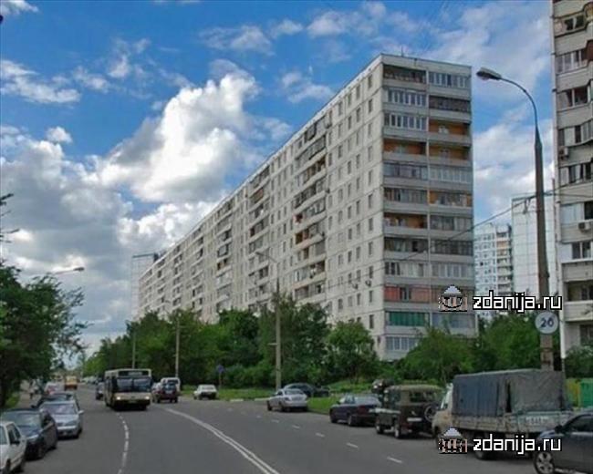 Москва, улица Твардовского, дом 1 (СЗАО, район Строгино)
