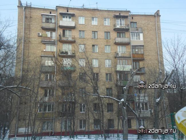 Москва, улица Сальвадора Альенде, дом 5 (САО, район Сокол)