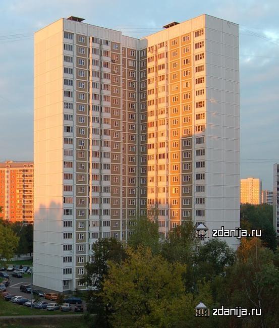 Москва, Полярная улица, дом 32, корпус 3, Серия КОПЭ (СВАО, район Северное Медведково)