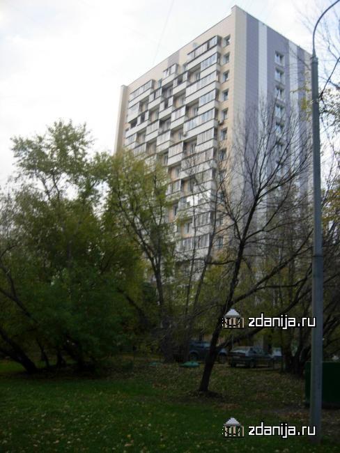 Москва, улица Пырьева, дом 12, Серия И209а (ЗАО, район Раменки)