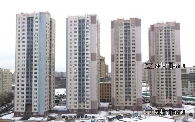 Москва, Высоковольтный проезд, дом 1, корпус 1 (СВАО, район Отрадное)