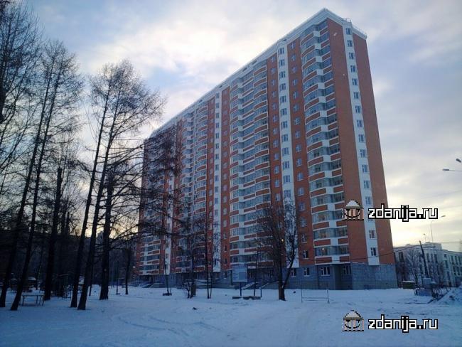 Москва, Туристская улица, дом 16, корпус 4 (СЗАО, район Северное Тушино)