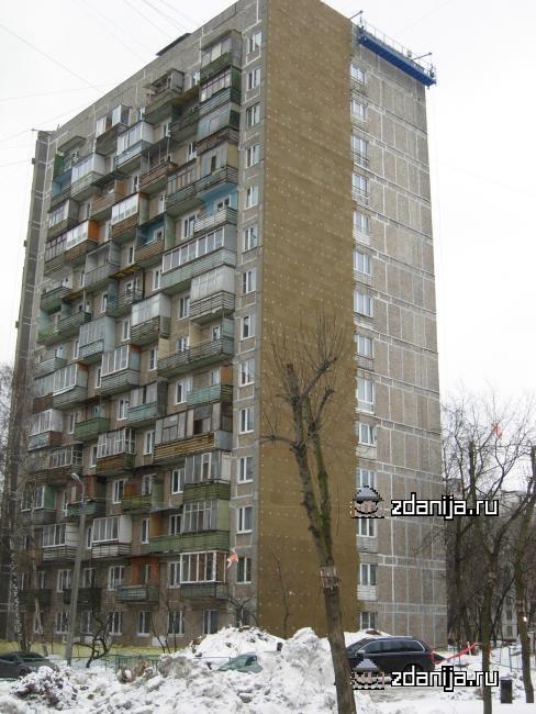 Москва, Широкая улица, дом 19, корпус 1, Серия И-209А (СВАО, район Северное Медведково)