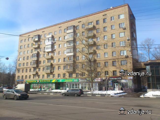 Москва, Восточная улица, дом 2, корпус 1 (ЮАО, район Даниловский)