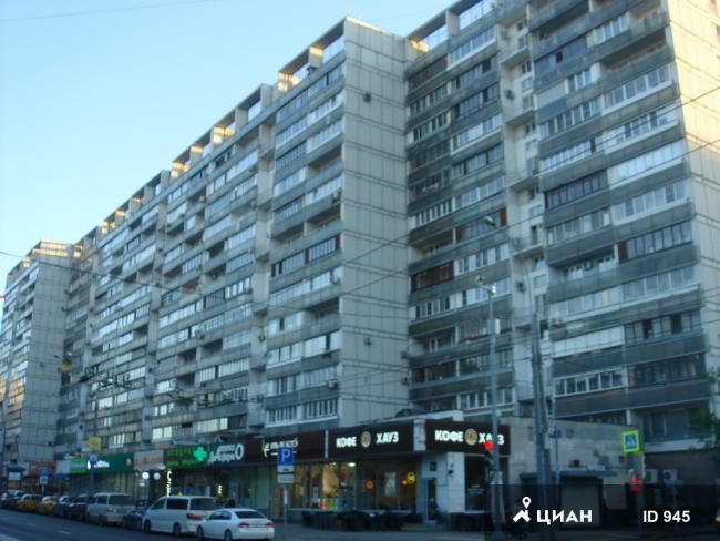 Москва, улица Большая Полянка, дом 30, серия И-209 (ЦАО, район Якиманка)