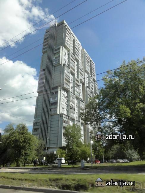 Москва, Большая Черкизовская улица, дом 20, корпус 1 (ВАО, район Преображенское)