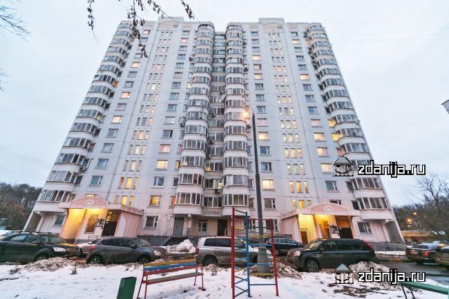 Москва, Ярцевская улица, дом 27, корпус 7, Серия п3м (ЗАО, район Кунцево)