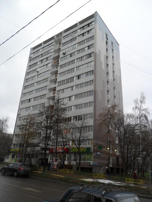 Москва, улица Грекова, дом 10, Серия И-209А (СВАО, район Северное Медведково)