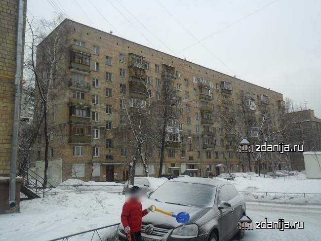 Москва, улица Рогожский Вал, дом 13, корпус 8 (ЦАО, район Таганский)