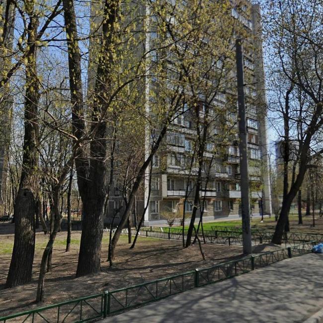 Москва, Халтуринская улица, дом 8, Серия И209а (ВАО, район Преображенское)