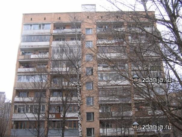 Москва, улица Маршала Рыбалко, дом 12, корпус 3, Серия: II-29-41 (СЗАО, район Щукино)