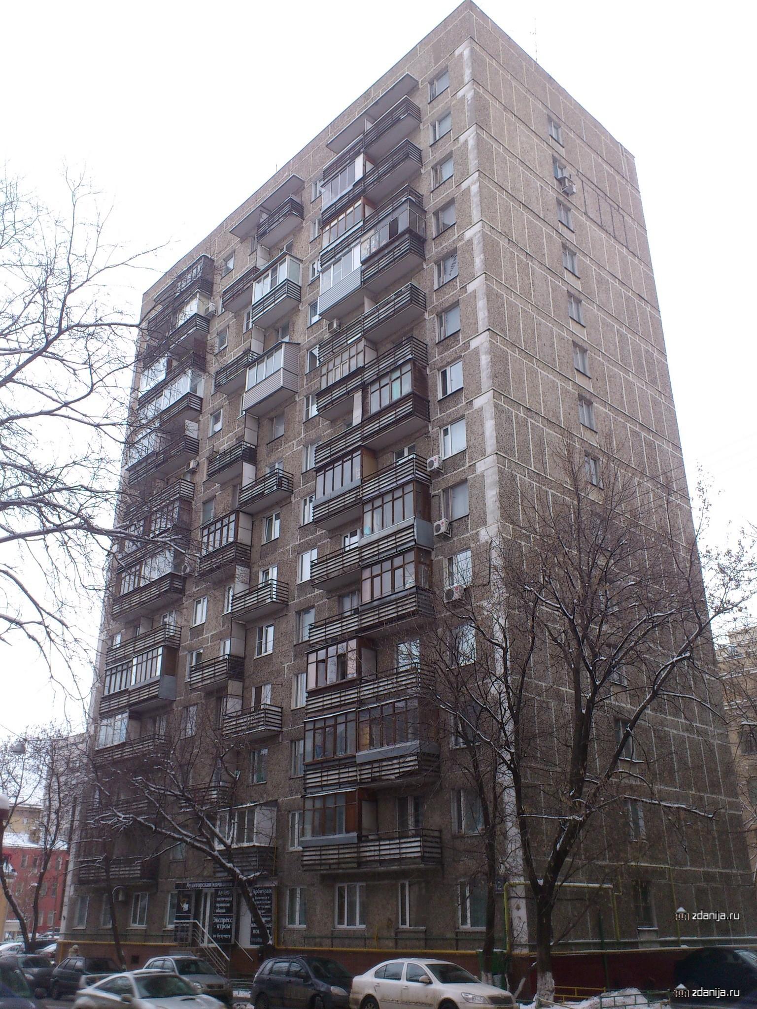 Москва, улица гиляровского, дом 48, серия - п-3/16 (цао, рай.