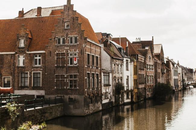 Старые дома в Бельгии