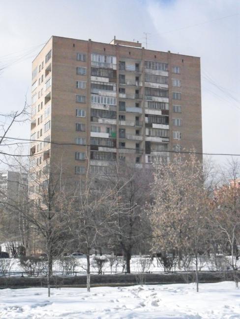 Москва, Волжский бульвар, дом 34, Серия II-67 башня Булыха (ЮВАО, район Текстильщики)