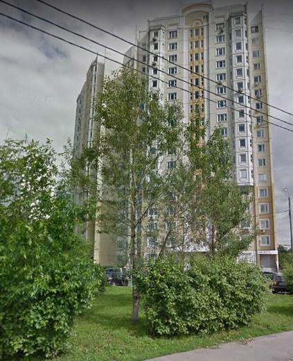 Москва, улица Вилиса Лациса, дом 27, корпус 2 Серия п3м (СЗАО, район Северное Тушино)