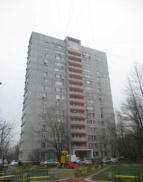Москва, Криворожская улица, дом 19А Серия II-68 (ЮАО, район Нагорный)