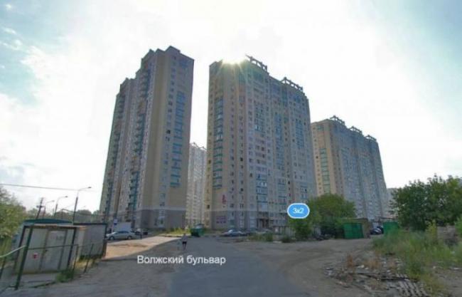 Москва, Волжский бульвар, дом 3, корпус 2, Серия П-3м (ЮВАО, район Рязанский)