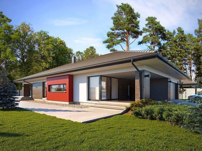 Лучшие проекты готовых бюджетных одноэтажных домов, дач, бань