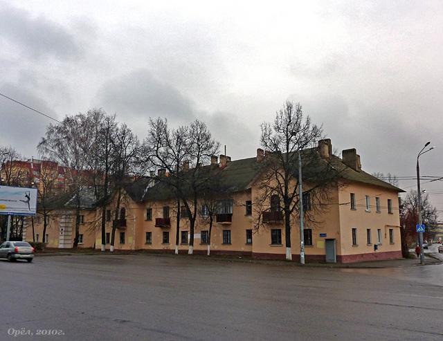 Лескова, 2; лицевой фасад