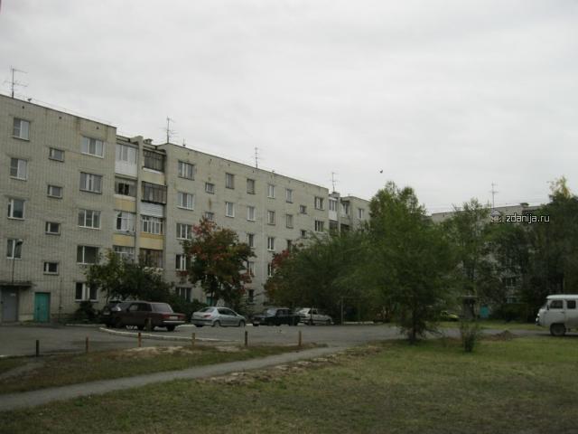 серия домов 85-04.86  г.Курган микрорайон Заозерный (отр.адм)